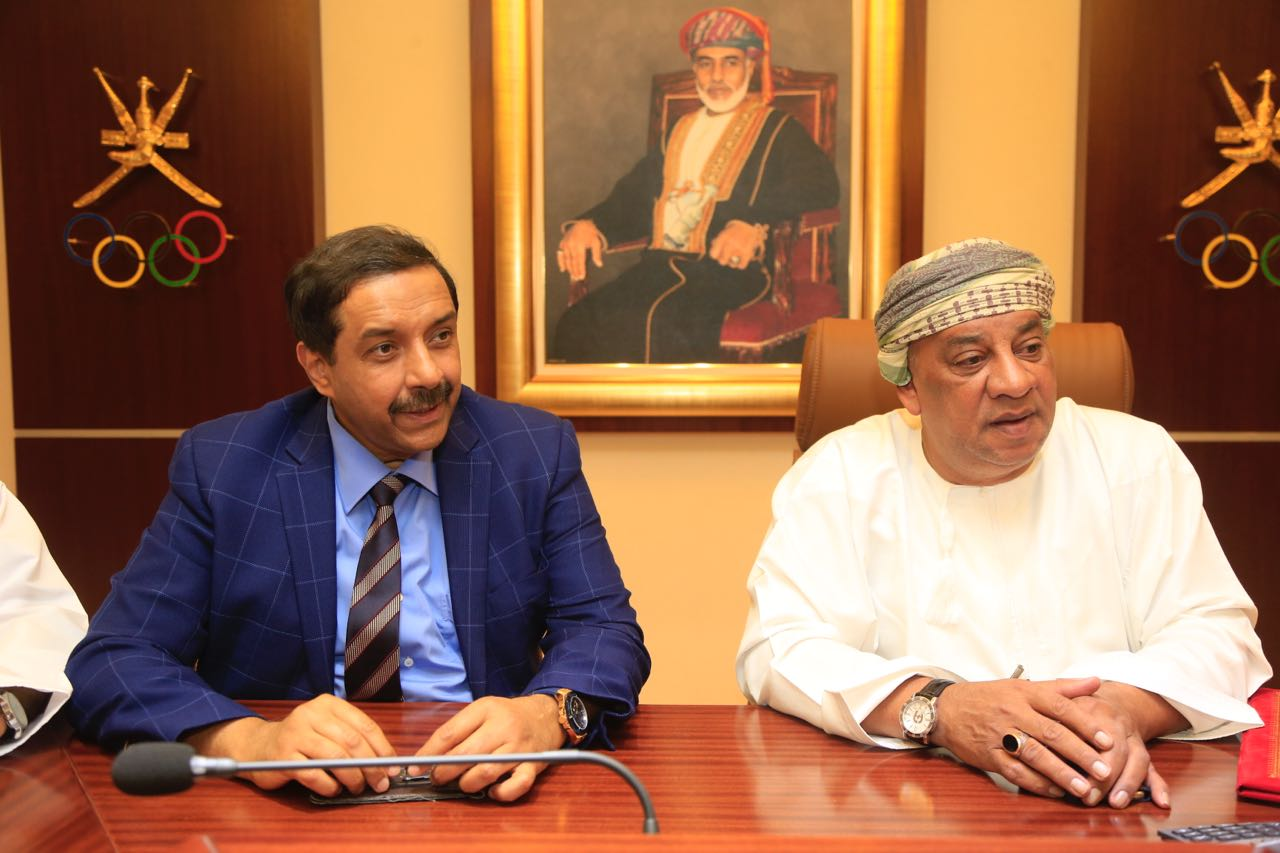 OHA Chief Talib Al Wahaibi and AHF CEO 'Dato' Tayyab Ikram